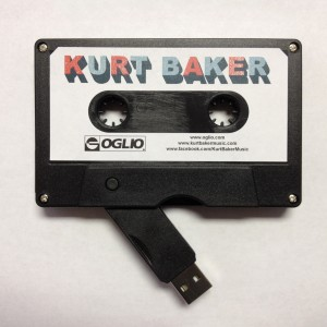 Kurt Baker 4GB USB Cassette Open