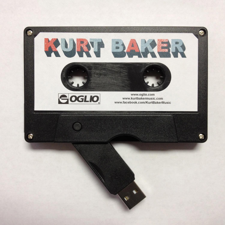kurt baker special edition 4gb usb 8 track and cassette oglio entertainment. Black Bedroom Furniture Sets. Home Design Ideas