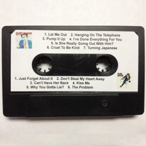 Kurt Baker 4GB USB Cassette Back